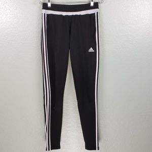 Addidas Black and White Track Pants F-0162